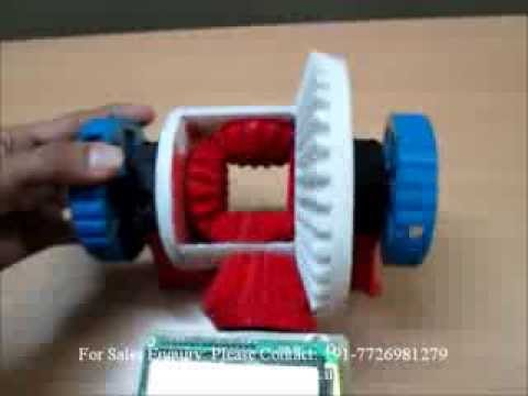 Demo of Differential Gear - 3D Printer / Rapid Prototyping Machines INDIA