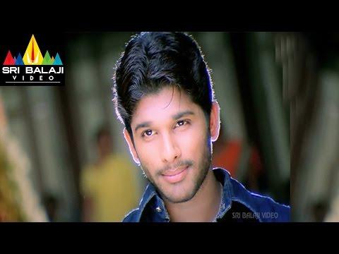 Bunny Movie Allu Arjun Warning to Prakash Raj Scene | Allu Arjun, Gouri Mumjal | Sri Balaji Video