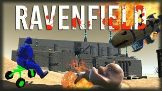 Playing Ravenfield-weapon Roblox, Shrek of destruction and electric Katanas!!