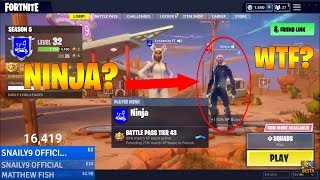 Fortnite HACKER rejoint mon lobby en tant que NINJA? (Fortnite Battle Royale)