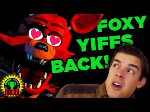 The Foxy YIFFING Ends Now! - Dayshift at FNAF (All Endings)