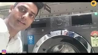 Voltas Beko Front Load Washing Machine voltas beko washing machine