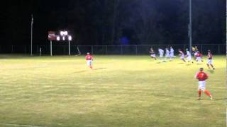 OCHS Soccer vs Daviess Co - 2011 6th District Finals - Brown to Nunley to Wilkerson