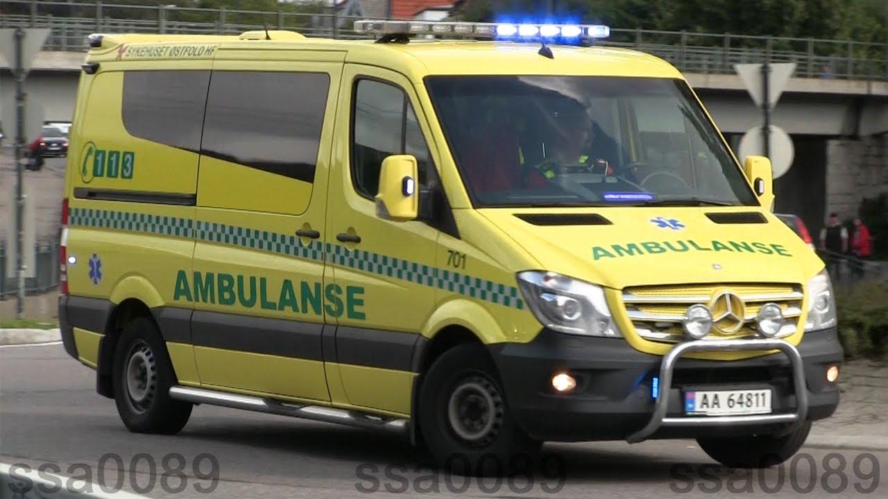 ambulanse østfold