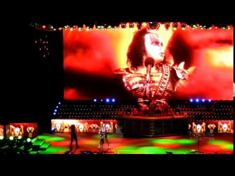 KISS Live In Irvine 8/14/2012 THE TOUR!