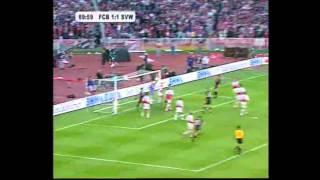 Bayern - Bremen 5-6 n.E. DFB-Pokalfinale 1999