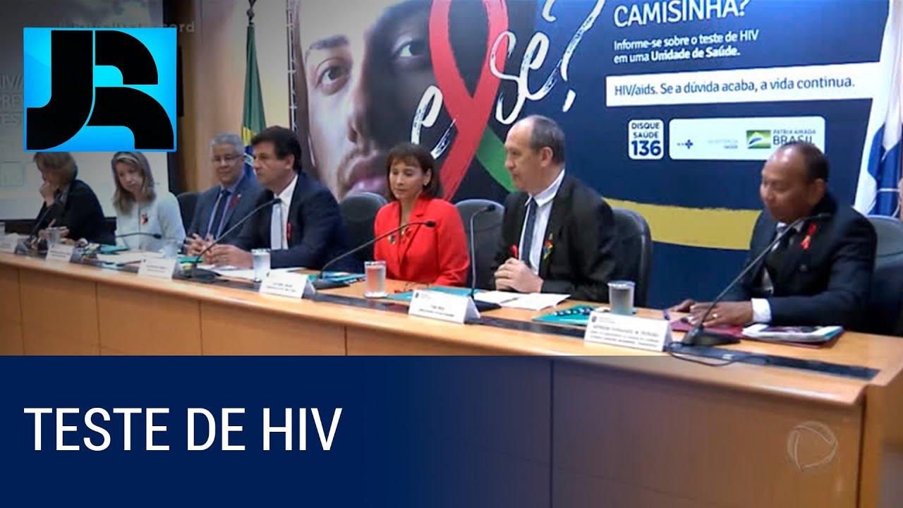 JORNAL DA RECORD - Começa nesta sexta-feira (29) campanha para estimular a realização do teste de HI