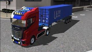 Truck simulator pro Europe android/iOS Gameplay