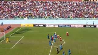 NEPAL V/S INDIA SANDIP RAI FREEKICK SAFF CHAMPIONSHIP 2013  ᴴᴰ