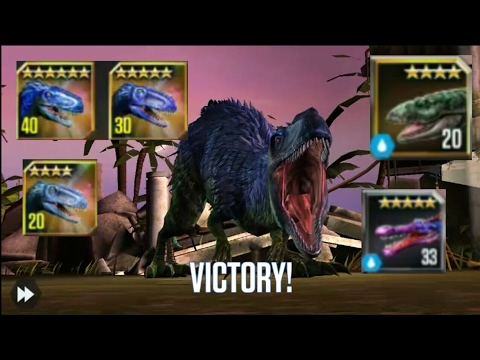 Jurassic World: The Game (YUTYRANNUS FAMILY!!)
