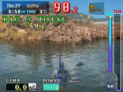 Fisherman's Bait PlayStation 1 Gameplay