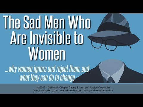Deborrah Cooper on the Men Women Ignore - Female  Rejection and the Invisible Man (MGTOW)