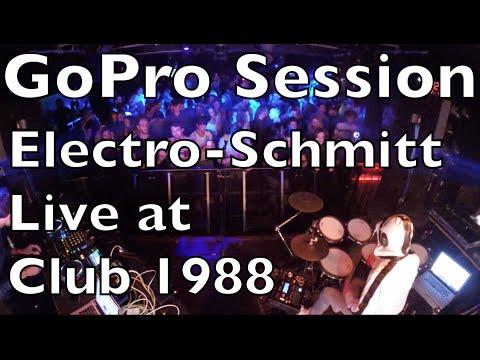 Electro-Schmitt 30min. dancefloor Live @ CLUB 1988 Rennes/France