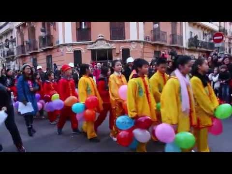 Chinese New Year in Spain / Китайский новый год в Испании