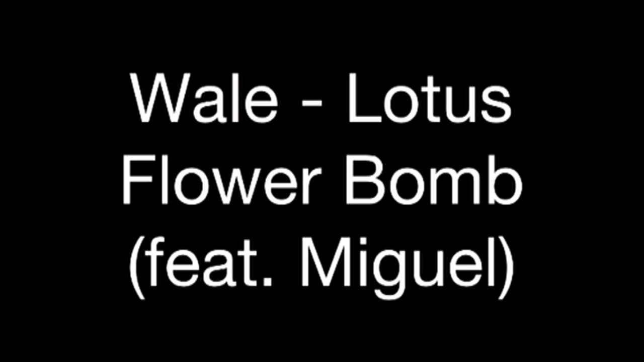 Wale Lotus Flower Bomb Feat Miguel Audio Youtube