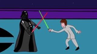 Мультик про звездные войны. Как Император мог победить Люка Скайуокера и Дарта Вейдера