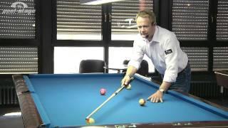 Pool Lessons  - Reference-Line No. 3, Ralph Eckert, Pool Billard Training Lessons