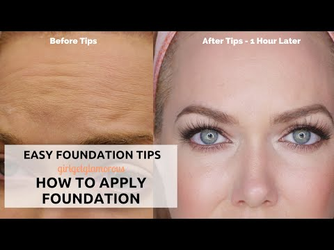 Over 35? | Foundation Routine + Tips from a Pro Makeup Artist | Tutorial for Mature Skin + Beginners