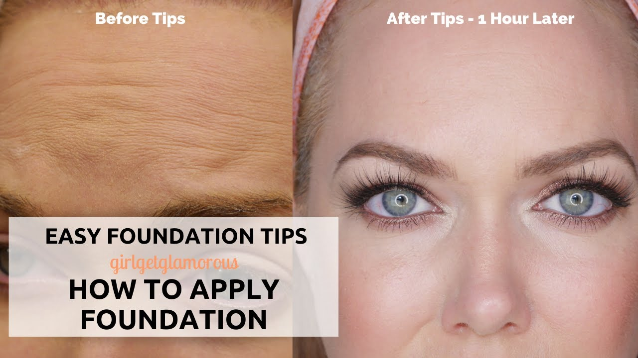Over 10?  Foundation Routine + Tips from a Pro Makeup Artist  Tutorial  for Mature Skin + Beginners