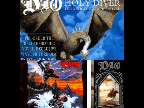 Limited Edition DIO Vinyl Picture Disc 'Holy Diver' LP w/ graphic novel adaptation