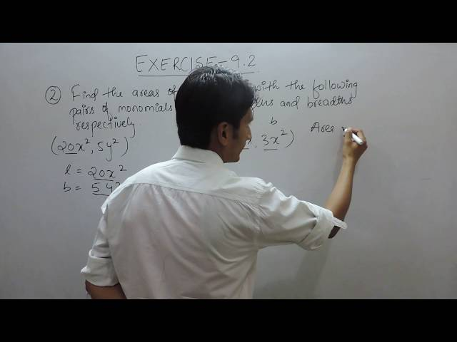 Exercise 9.2 - Question 2 (iii,iv) NCERT Solutions for Class 8th Maths Algebraic Expressions
