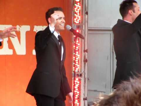 Human Nature - People Get Ready @ Federation Square 10th Dec 2010