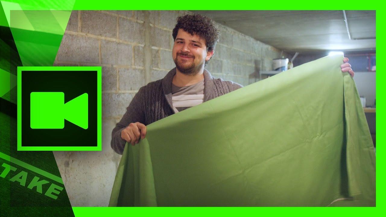 diy green screen setup at home low budget cinecom net