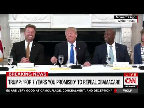 "Trump on Sen. Heller: ""He Wants to Remain a Senator, Doesn't He?"""