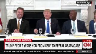 "Trump on Sen. Heller: ""He Wants to Remain a Senator, Doesn"