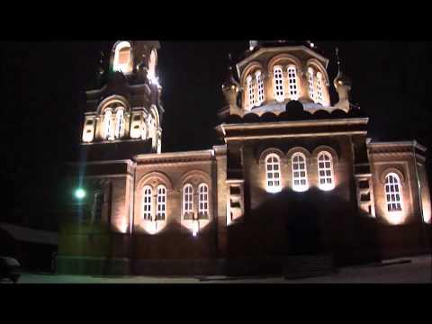 Зимнее утро в городе Льгов декабрь 2013 г