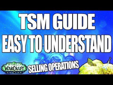 WoW: How to Post & Cancel Auctions - TradeSkillMaster Addon