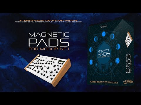 32 Ambient Patches for MODOR NF-1. Magnetic Pads Sound Bank, by CO5MA