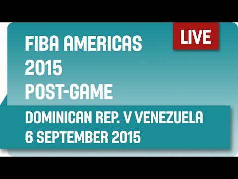 Post-Game: Dominican Republic v Venezuela - Second Round -  2015 FIBA Americas Championship