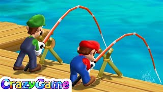 Mario Party 9 Step It Up - Mario vs Luigi Co-op 2 Player Gameplay