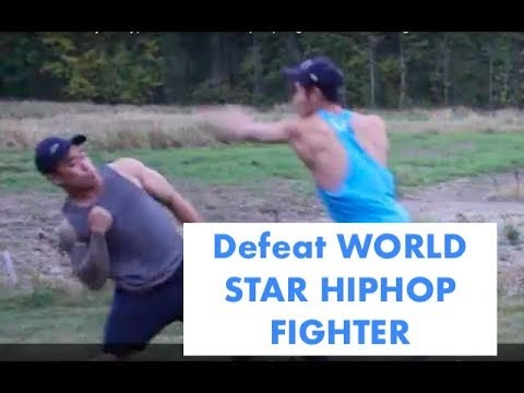 """How to defeat your typical """"world star hiphop"""" fighter in a street fight"""