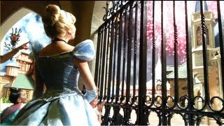 Fireworks w/ Cinderella at Disney World Magic Kingdom! Bippity Boppity Boutique, Royal Table Dinner