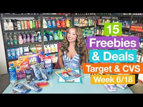 ★ Target & CVS Coupon DEALS & FREEBIES (Week 6/18-6/24)