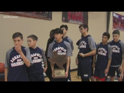 Annapolis Christian Academy wins men's basketball T-Cal 1-A State Championship Region 4