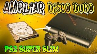 Ampliamos la MEMORIA INTERNA de una PS3 SUPER SLIM ,Tutorial Fácil - almadgata
