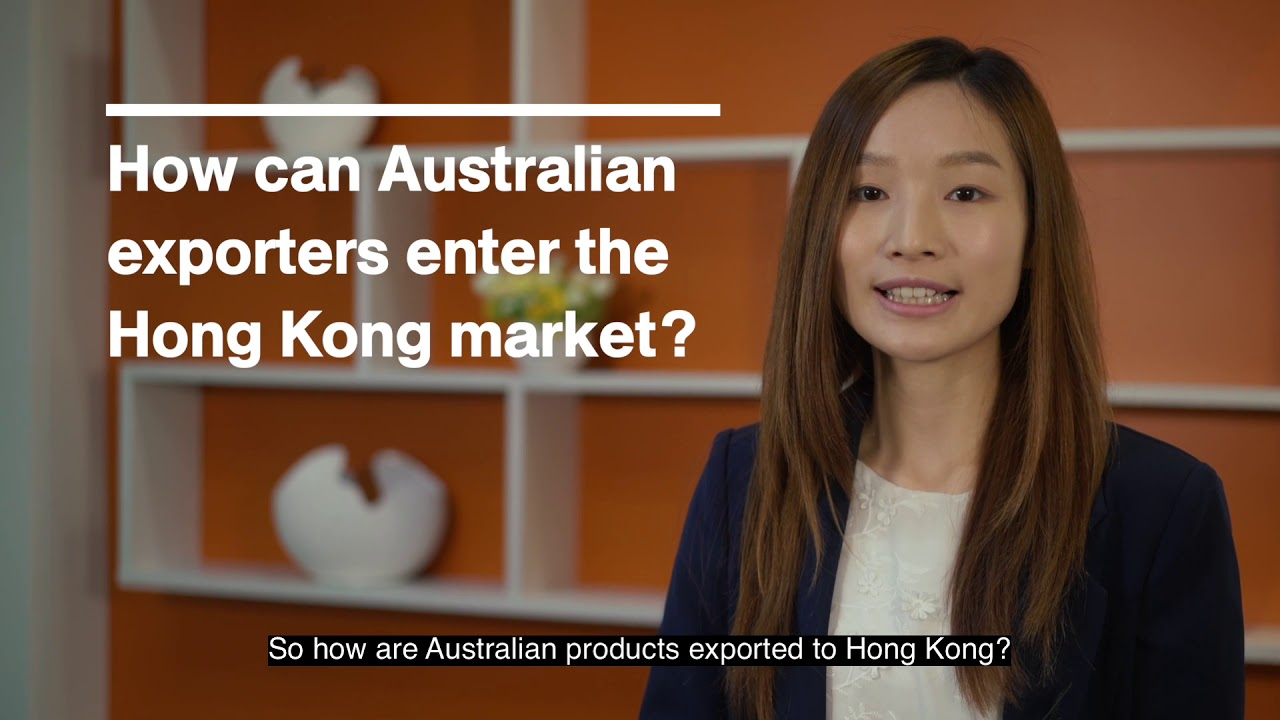 Food and beverage - Hong Kong - For Australian exporters