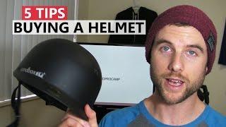 Ski Helmet - 5 Tips for Buying a Helmet - Snowboard Gear