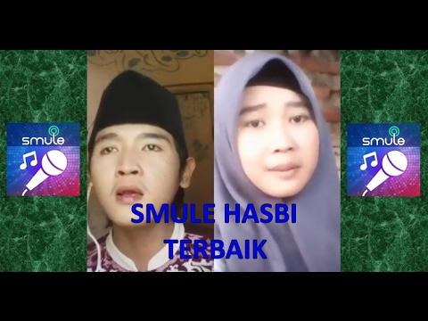 Smule Hasbi Maula Ya Shalli Wasallim ft wanita cantik