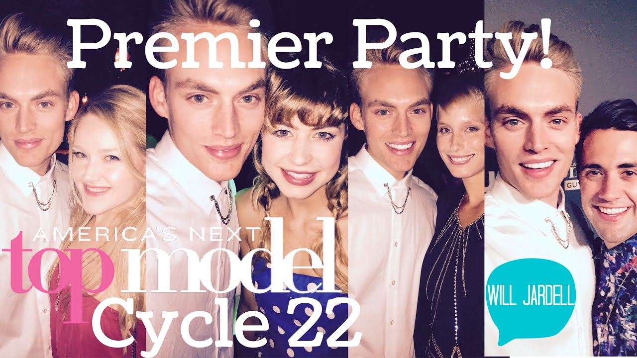 ANTM Cycle 22 Premier Party with Will Jardel (America's Next Top Model)
