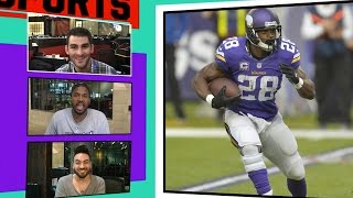 Latavius Murray: I Won't Wear #28 On Vikings ... Too Much Respect for AP | TMZ Sports