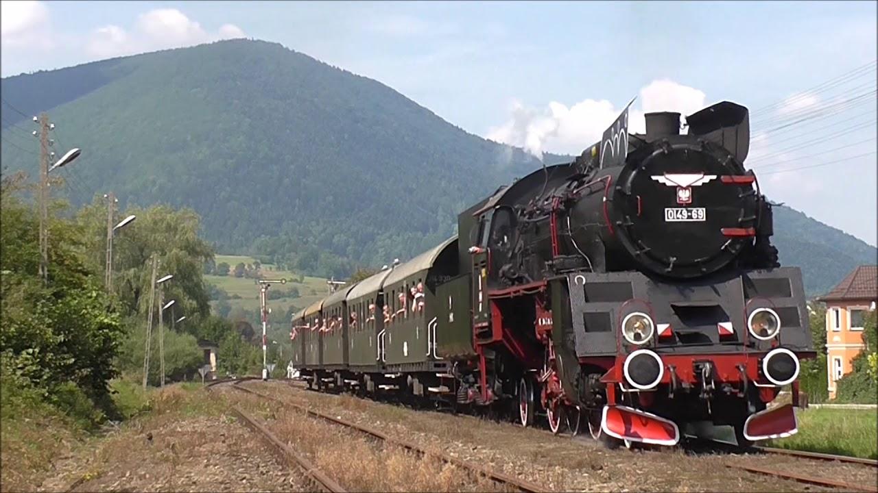 Pociągi Retro z Chabówki do Kasiny Wielkiej i Mszany Dolnej - YouTube