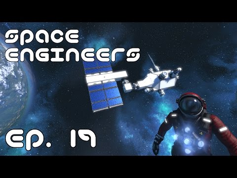ANTENNA NETWORK! (Part 1) - Space Engineers Survival LP Ep. 19