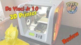 XYZ-Printing - Da Vinci Junior Jr 1.0 3D Printer for Beginners! - REVIEW