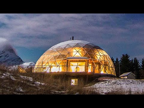 Norwegian Family Of 6 Constructed Their Dream Dome In The Arctic Circle
