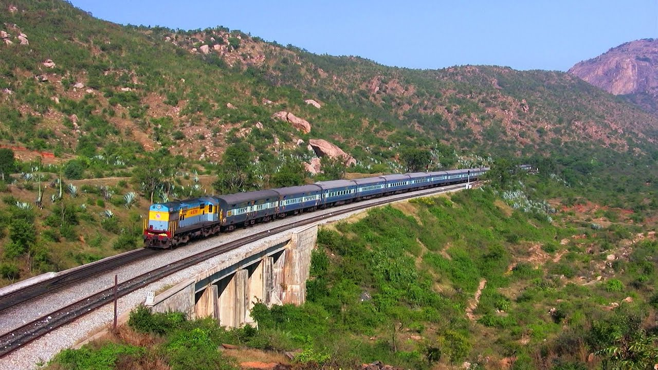 (HD) ALCo Train Video Of Kachiguda