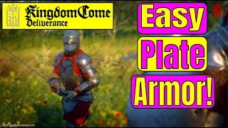 How to get PLATE ARMOR EASILY in KINGDOM COME DELIVERANCE! Kingdom Come Deliverance GUIDE